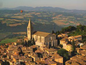 Todi and the Church of San Fortunato