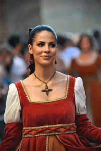 Mediaeval costume for the Palio of Città della Pieve
