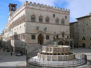 Palazzo dei Priori and Fontana Maggiore in Perugia