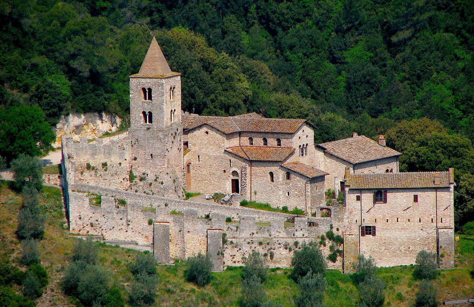 Abbey of St. Cassiano in Umbria