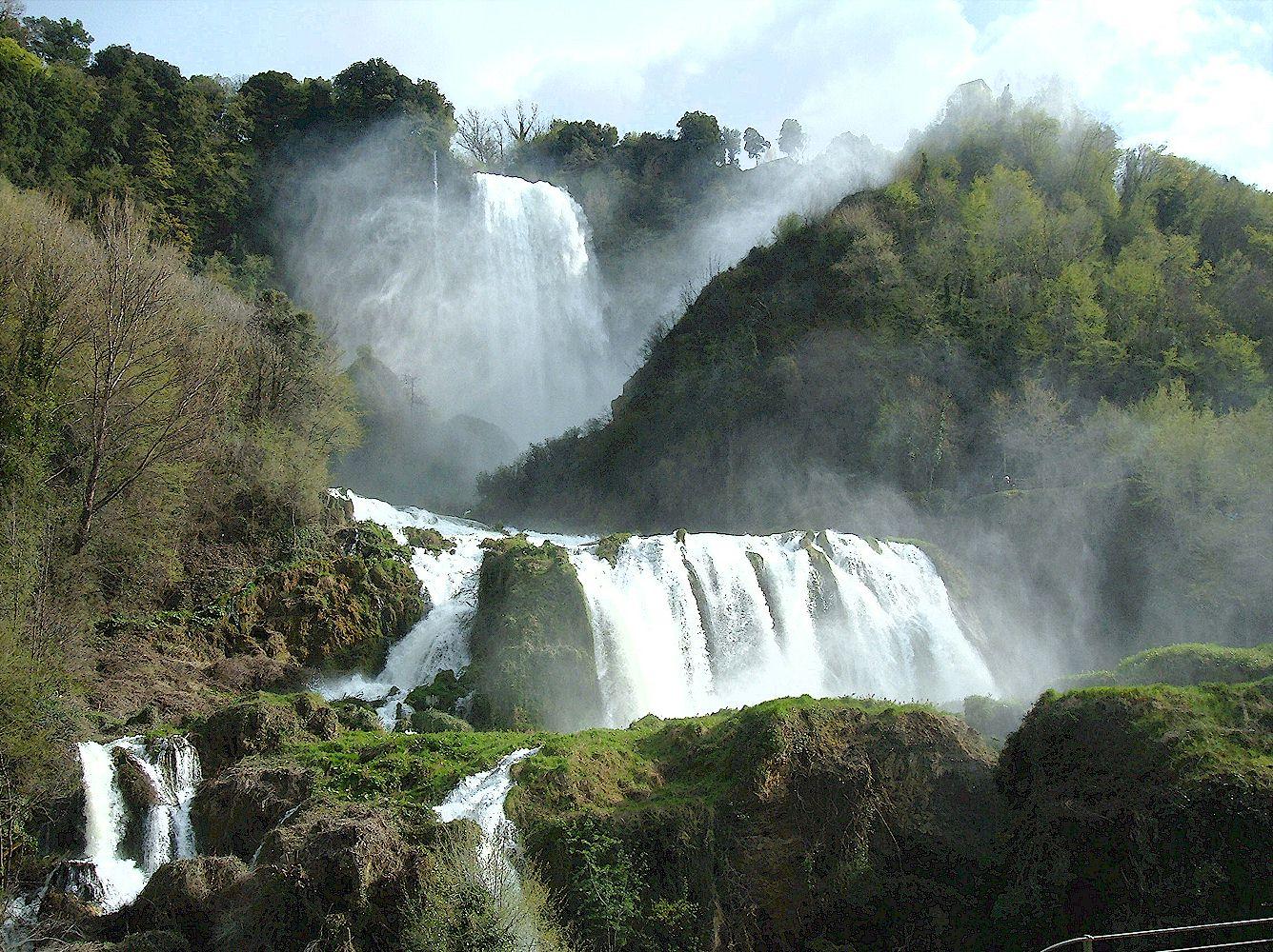 Cascata delle Marmore in Umbria, Italy