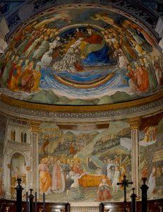 Duomo of Spoleto interior