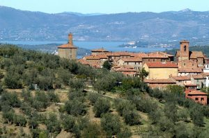Panicale and Lake Trasimeno