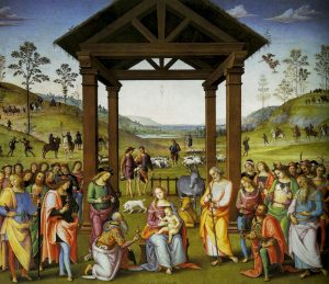 Perugino - Adoration of the Magi