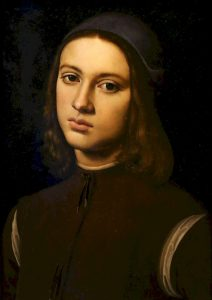 Perugino - Portait of a young man