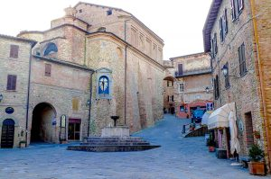 Piazza Grande of Panicale