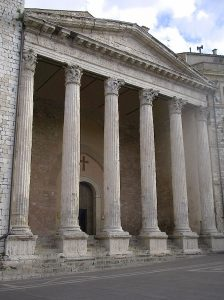 The Temple of Minerva at Assisi