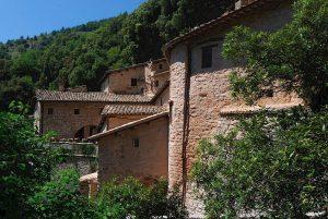 Eremo delle Carceri hermitage near Assisi, Umbria