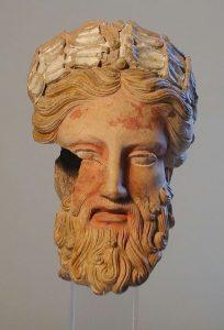 Orvieto terracotta sculpture
