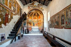 Church of St John the Baptist at Arrone in Umbria