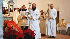 Mass in the Basilica of St. Benedict in Norcia